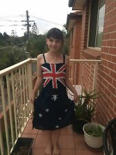 Australia Day Aussie Flag for Girls Age 8-12yrs Limited Supply Buy Now