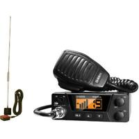 CB Radio and Tram 1198 Glass Mount CB Uniden PRO505XL 40-Channel Bearcat Compact