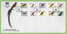 Birds First Day Cover Zimbabwe Stamps (1965-Now)