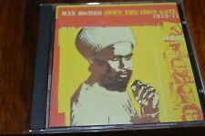MAX ROMEO   OPEN THE IRON GATE  1973-1977     CD  ALBUM   BLOOD AND FIRE  1999