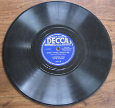"""Lawrence Welk - 78 rpm - """"Mairzy Doats"""" / """"Don't Sweetheart Me"""" - Decca 4434 VG-"""