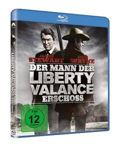 Der Mann, der Liberty Valance erschoss [Blu-ray/NEU/OVP] John Wayne, J.Stewart