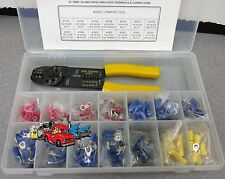Race trailer shop service department automotive wire terminals pliers assortment