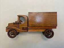 Wooden Toy Delivery Truck (Great for kids!)