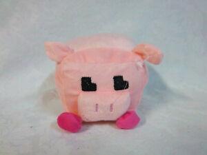 "Pixel Pig Plush Soft Toy Stuffed Animal 5.5"""