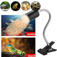 New listing Reptile Turtle Lizard Uva+Uvb Lamp Heating Light Holder Pet Supplies Lights Bulb