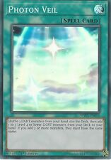 YU-GI-OH CARD: PHOTON VEIL - SUPER RARE - SPWA-EN050 1ST EDITION