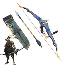 Overwatch OW Hanzo Storm Bow Arrow & Quiver Weapon PVC Cosplay Prop