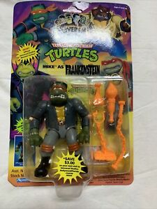 TMNT Universal Studios Monsters MIKE FRANKENSTEIN 1993 NIB Unpunched