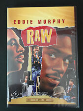 EDDIE MURPHY Raw DVD. R Rated. Brand New & Sealed