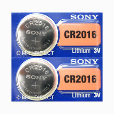 Sony CR2016 Car Remote CMOS BIOS Motherboard 3v Battery Coin Cell Use By 2029