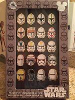 Disney D23 2017 Expo Exclusive Star Wars Storm Trooper Helmet 20 Pin Set LE500