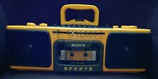 BOOMBOX SONY CFS 930L STEREO RADIO CASSETTE CORDER