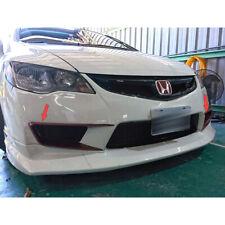 Unpainted FOR Honda Civic 8.5th Sedan Front Fog Light Lamp Trim Cover 2009-2011