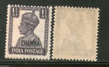 India CHAMBA State KG VI 1½ An Postage Stamp SG 112 / Sc 93 Cat. £4 MNH