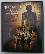 The Wicker Man Trading Card Binder + UCP1 Binder Promo Card from Unstoppable