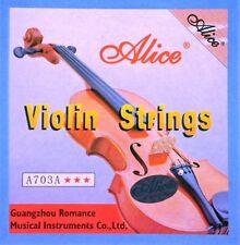 Jeu de 4 cordes pour violon -  sous blister