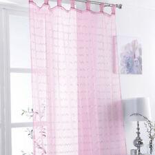 Voile Children's Tab Top Curtains & Pelmets