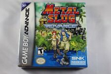 Metal Slug Advance (Nintendo Game Boy Advance GBA) NEW Factory Sealed
