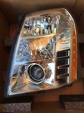 *NEW CADILLAC ESCALADE HEADLIGHT DRIVER XENON HID OEM 2007-2014 LEFT GM LH *NEW*
