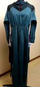 JUMPSUIT LADIES WITH LACE INSERTS - SIZE 14 - LIKE NEW