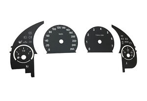 For BMW F10,F15,F25,F01 - Speedometer dials from MPH to km/h Gauges