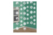 CHRISTMAS FROZEN SNOWFLAKE HANGING DECORATION (6 Strings)
