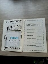 More details for variety theatre programme 1950s ,manchester palace 1956,morecambe and wise yana