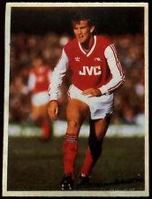 Martin Hayes Arsenal Daily Mirror 1986 Football Sticker (C211)