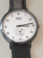 Tutima Boccia Royce Quartz Watch 42mm Titanium Sapphire Crystal 3592-01