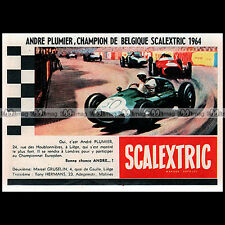 SCALEXTRIC TRI-ANG 1964 CIRCUIT SLOT CAR RACING VINTAGE - Pub Publicité Ad #B690