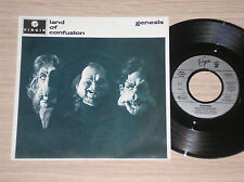 "GENESIS - LAND OF CONFUSION / FEEDING THE FIRE - 45 GIRI 7"" GERMANY"