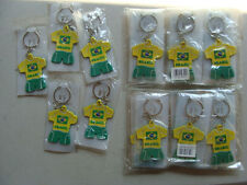 Lot of 28 - Brazil Football Soccer Club Keychain New Sealed