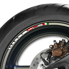 8 x APRILIA RSV 1000 STRIPE WHEEL RIM STICKERS DECALS- mille rsv RSV1000