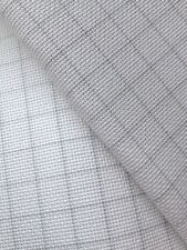 Zweigart White Easy Count 20 count Fine Aida  50cm x 110 cm with grid lines