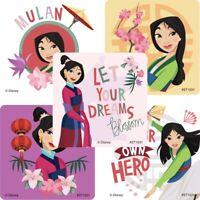 Mulan Stickers x 5 - Disney Mulan - Princess Mulan - Chinese - Birthday Party