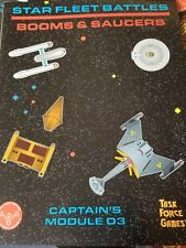 STAR FLEET BATTLES Booms and Saucers Captain's Module D3 TASK FORCE GAMES