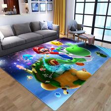 Super Mario Area Rug Carpet 3D Print Anti-Skid Rug Home Living Room Floor Mats