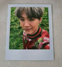 BTS Suga Min Yoongi Official Polaroid Photocard - Young Forever Kpop