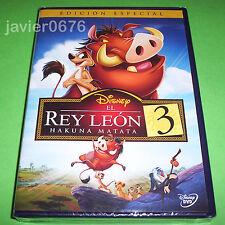 EL REY LEON 3 HAKUNA MATATA DISNEY DVD NUEVO Y PRECINTADO