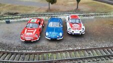 Lot n°1 de 3 voitures 1/43 ALPINE RENAULT A110 RALLYE  COLLECTION dont NOREV