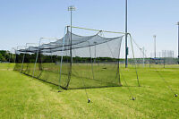 Cimarron 55x14x12 #36 Twisted Poly Batting Cage Net Only - FREE SHIPPING