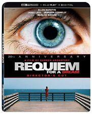 Requiem for a Dream [(4K Ultra Hd + Blu-ray + Digital, 2020) New w/ Slipcover!