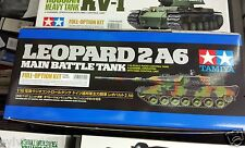 Tamiya # 56020 1/16 Rc Leopard 2 A6 - Full Option Kit New In Box