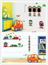 2 THOMAS THE TANK ENGINE & FRIEND REMOVABLE WALL STICKERS VINYL DECAL ROOM DECOR