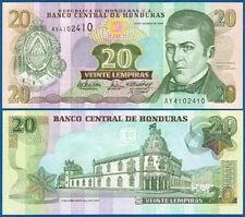 HONDURAS  20 Lempiras  26.8.2004  UNC  P. 92