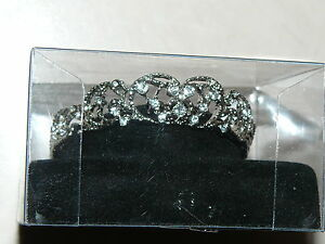 Franklin Mint Faux Crystal Tiara For Princess Diana Vinyl 16 Inch Diana Doll