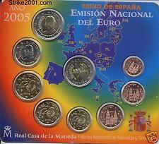 Euro SPAGNA 2005 in Folder Ufficiale con 2 Euro COM