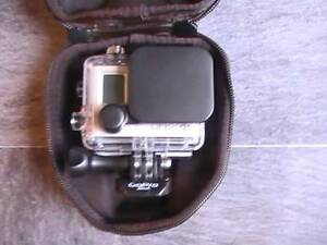 Black Protective PVC Camera Bag Travel Carry Case for GoPro HD Hero3 2 1 new bag