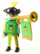 Playmobil 3666 Castle Parts FIGURE TRUMPETER MAN Trumpet Player Kings Knights I